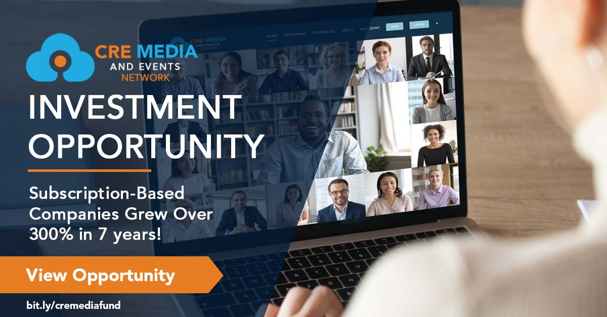 CRE Media And Events Network Investment Opportunity PRC Investor Network Facebook